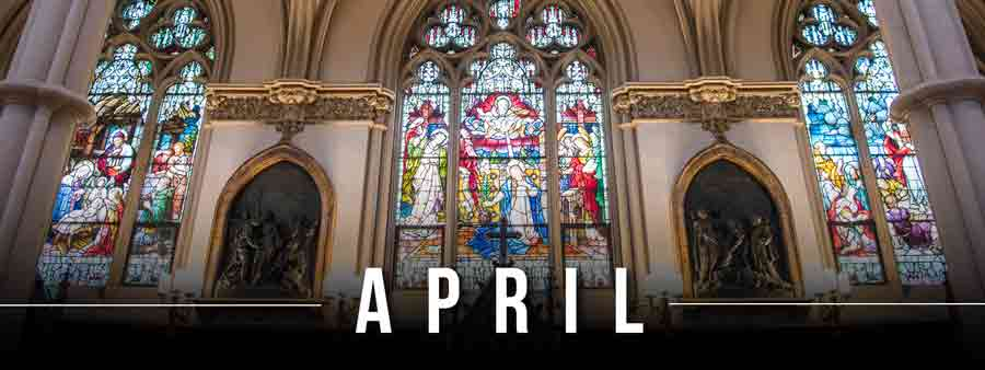 Social Spirits Calendar - April