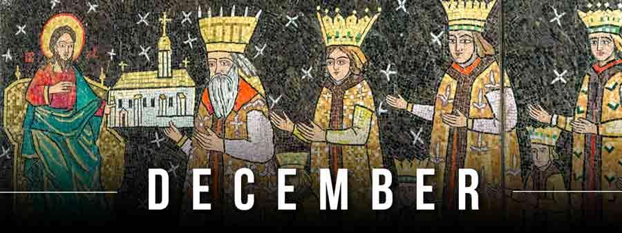 Social Spirits Calendar - December