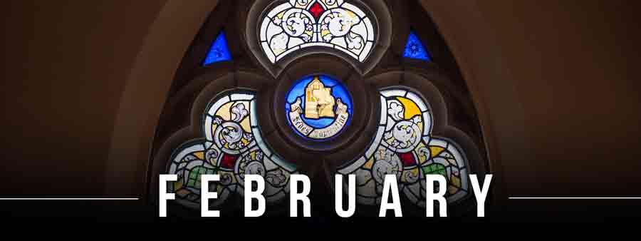 Social Spirits Calendar - February