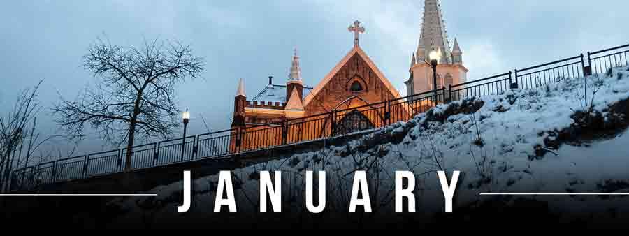 Social Spirits Calendar - January