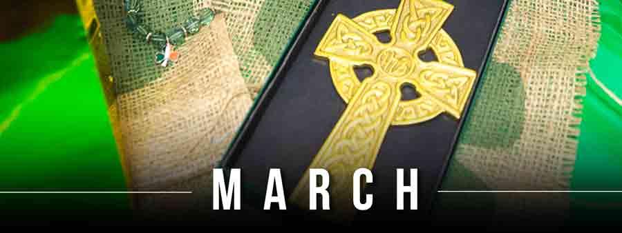 Social Spirits Calendar - March