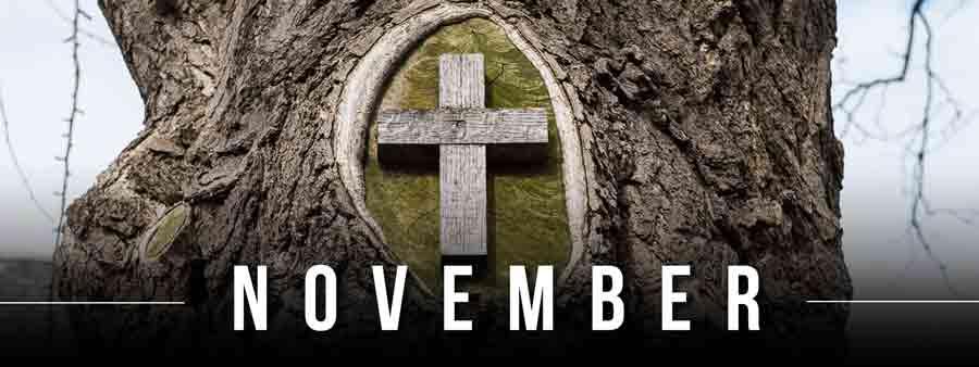 Social Spirits Calendar - November