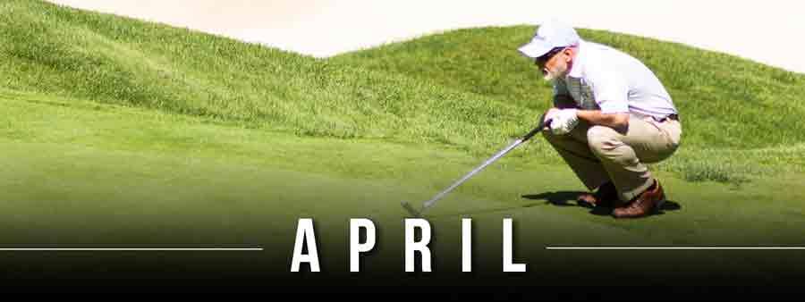 Social Sports Calendar - April