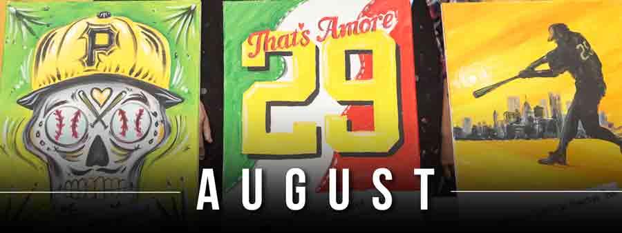 Social Sports Calendar - August