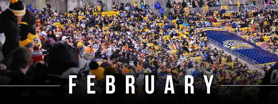 Social Sports Calendar - February