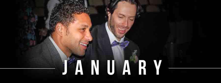 Social Sports Calendar - January
