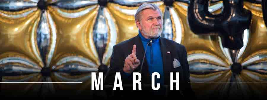 Social Sports Calendar - March