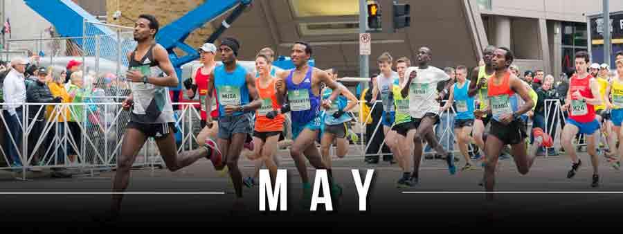 Social Sports Calendar - May