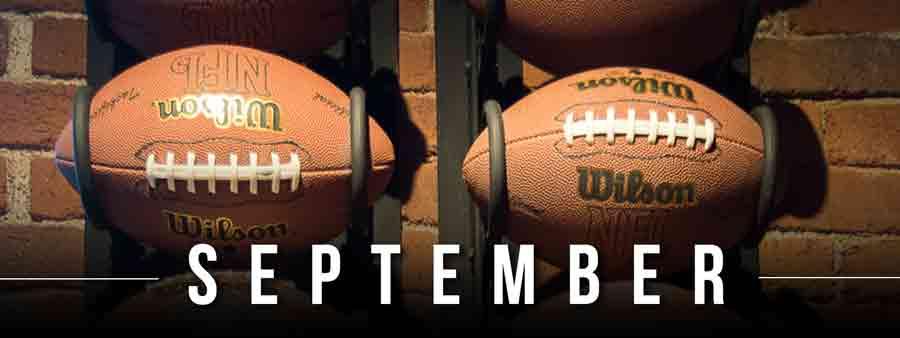 Social Sports Calendar - September
