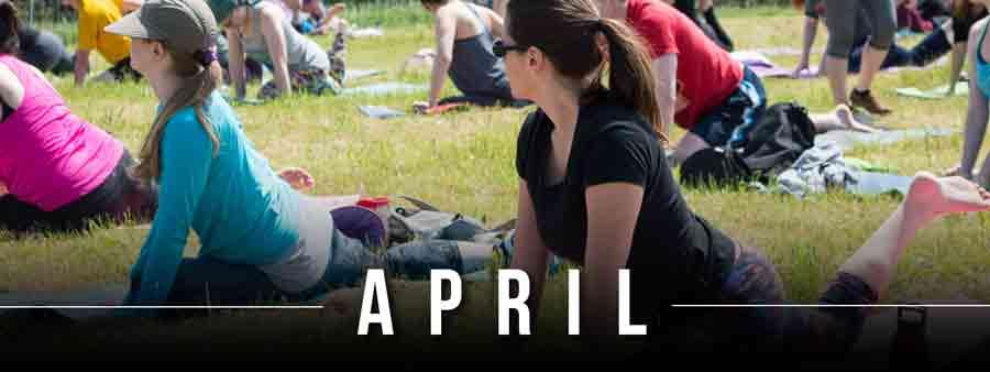 Social Wellness & Awareness Calendar - April