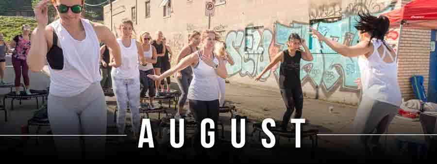 Social Wellness & Awareness Calendar - August