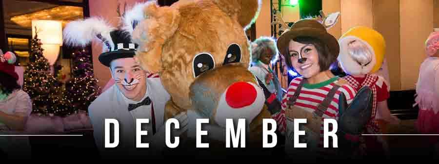 Social Wellness & Awareness Calendar - December