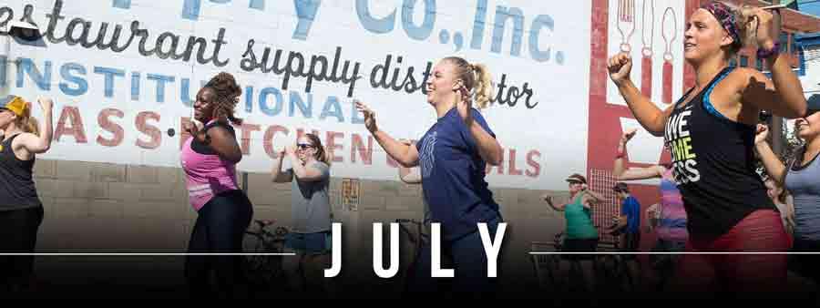 Social Wellness & Awareness Calendar - July