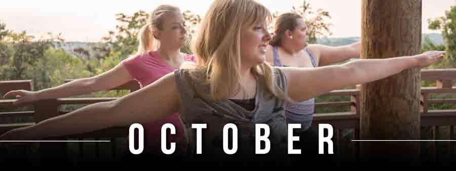 Social Wellness & Awareness Calendar - October