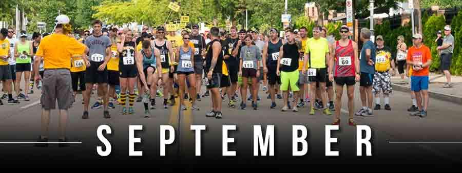 Social Wellness & Awareness Calendar - September